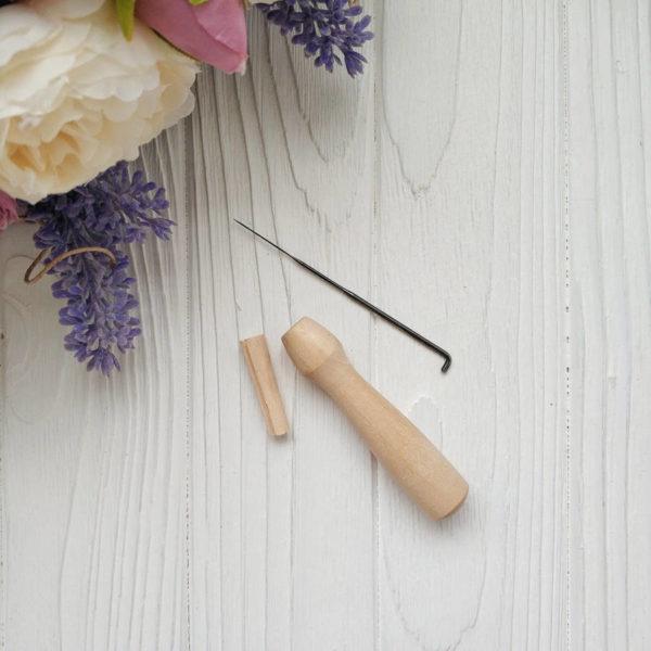 набор для фелтинга ручка и игла