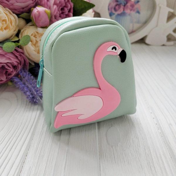 рюкзак фламинго мятный