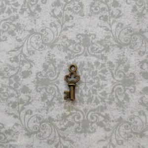 подвеска ключик бронза